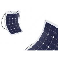 Buy cheap Durable Semi Flexible Marine Solar Panels Commercial For Camping / Portable Bag from wholesalers