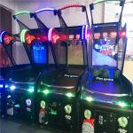 Buy cheap Luxury basketball shooting simulator game machine / arcade street basketball machine from wholesalers