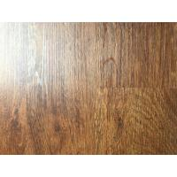 Buy cheap anti-corrosion wood grain uv coating embossed PVC vinyl flooring planks from wholesalers