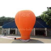 Buy cheap Orange / Red / Blue Ground Custom Inflatable Balloons 6m 420D Oxford Cloth from wholesalers