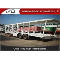 Buy cheap Double Axles Car Carrier Trailer For 9 Cars Transport Steel Material from wholesalers