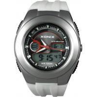 Buy cheap White Eletronic Analog And Digital Watches For Men , Business Style from wholesalers