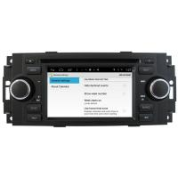 Buy cheap WiFi Internet 2005 2006 2007 Jeep Grand Cherokee Car GPS Navigation System , Satellite Radio Android Wehicle Dvd Players from wholesalers