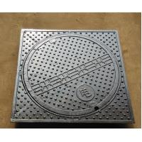 Buy cheap Single Seal with Closed Keyways Ductile Iron Manhole Cover Frame Medium Duty 12.5 Tonne Loading from wholesalers