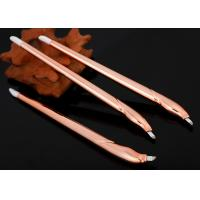 Buy cheap Champagne Disposable Microblading Pen With Blister Packing 12.25 cm Length from wholesalers