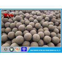 Buy cheap 100-130mm forged steel ball for aluminium and bauxite companies from wholesalers