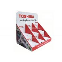 Buy cheap Toshiba Retail Countertop Displays , Corrugated 3 Tiers Pop Counter Displays Unit from wholesalers