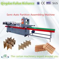 Buy cheap Semi Auto & Automatic Paper Board Cardboard Partition Assembling Machine from wholesalers