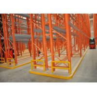 Buy cheap Warehousing Racking System , Steel Racks Convenient Pick Up Cargos from wholesalers