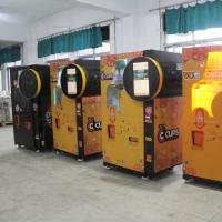 Buy cheap Shopping Mall Automated Fresh Orange Juice Vending Machine Coin Cash Payment from wholesalers