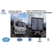 Buy cheap 2020s new iSUZU 4*2 LHD double cabs 1.5tons cold room truck for sale, factory sale low price ISUZU refrigerated truck product