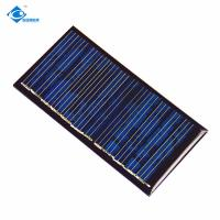 Buy cheap 0.5W EPOXY Silicon Solar PV Module 17%-19% Optimized Cell Efficiency ZW-88545 transparent solar dancing toys from wholesalers