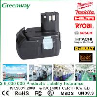 Buy cheap Brand new electric tool battery for Hitachi BCL1815 EBM 1830 portable tool replacement battery from wholesalers