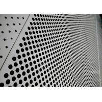 Buy cheap Sound Absorbing Aluminium Perforated Panel, Pvdf Coated Aluminum Punch Plate from wholesalers