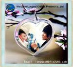 Buy cheap Heart Shaped Plastic Photo Keychain Acrylic with Custom Logo from wholesalers