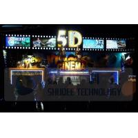 Buy cheap Electric 5D Movie Theater Motion Chairs System With Special Environment Effect product