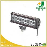 Buy cheap 12V 4200lm 54w cree double row led light bar for car from wholesalers
