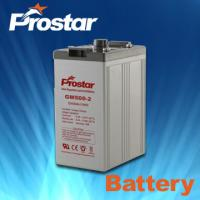 Buy cheap Prostar 2 Volt Lead Acid Battery 2v 500ah from wholesalers