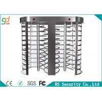 Buy cheap Rust-proof RFID Control  Full Height Turnstiles Used For Intelligent Access from wholesalers