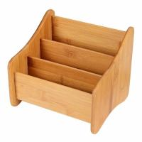 Buy cheap Small Bamboo Office Supplies , Wood Desk Organizer Storage Holder For Pen from wholesalers