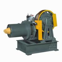 Buy cheap Geared Traction Machine For Elevator / Lift , 0.5 ~ 1.0m/s 2000kg YJ200A from wholesalers