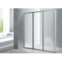 Buy cheap Folded Screen Glass 1400 X 800 Walk In Shower Enclosure CE SGS Certification from wholesalers