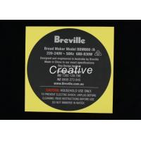 Buy cheap Professional Custom Sticker Labels , Printed Logo Permanent Adhesive Stickers product