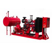 Buy cheap Diesel Engine Pump Set ( Heat Exchanger)  2500GPM 160PSI 1800RPM  Ul/FM Split casing Fire fighting Pump set from wholesalers