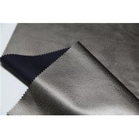 Buy cheap Embossed Pu Synthetic Leather 0.5mm Pearl Bronze Normal Tearing Strength from wholesalers