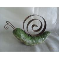 Buy cheap Polyresin Green Snail Garden Animal Statues toys with handpainting from wholesalers