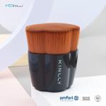 Buy cheap Aluminum Ferrule Kinlly Kabuki Makeup Brush For Blending Liquid from wholesalers