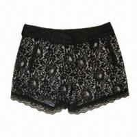 Buy cheap Girl's shorts in fashionable bud silk design  from wholesalers