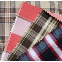 Buy cheap Yarn dyed cotton flannel stripe and check fabric for shirting from wholesalers