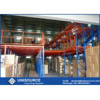 Buy cheap Steel Floor Multi - Tier Rack Supported Mezzanine For Industrial Warehouse from wholesalers