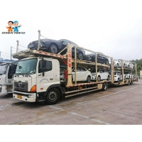 Buy cheap 18M Multi Car Carrier Trailer from wholesalers