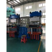 Buy cheap High Efficiency Vacuum Compression Molding Machine , Kitchen 300 Ton Silicone Cleaning Clothes Injection Molding Machine from wholesalers