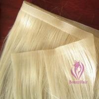 Buy cheap 100% Remy Hair Skin Weft from wholesalers