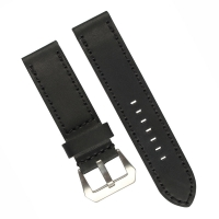 Buy cheap ROHS Mens Watches Leather Band , OEM Stitched Leather Watch Strap With Pre V Buckle from wholesalers