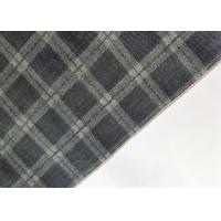 Buy cheap Cotton Shirt / Dress Striped Denim Fabric Twill With Checkered Fashion Jacquard from wholesalers