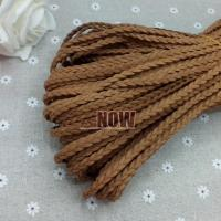Buy cheap Braided Faux Suede Cord 100mts per Bundle 3mm*1.5mm DIY Jewelry Bracelet Making Findings from wholesalers