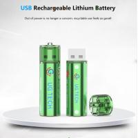 Buy cheap China wholesale 1.5V 1000mAh AA USB type lithium ion battery replace for alkaline batteries from wholesalers