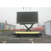 Buy cheap Mobile Led Display Trailer With Lifting System , High Defination LED Advertising Trailer from wholesalers