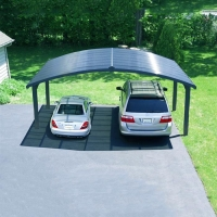 Buy cheap Customized Galvanized Residential Pv Carport Structures , On Off Grid Solar Power Parking Lot from wholesalers