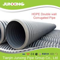Inch dn mm large plastic pipes hdpe double wall
