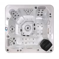 Buy cheap Corner Location Hydrotherapy Hot Tub Spa 5 Person Capacity Ponfit With Bluetooth Speakers product