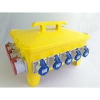 IP66 36 Ways Portable Distribution Box Yellow Load Master Overcurrent Protection