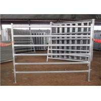 Buy cheap Flexible temporary cattle yard panels for horse cattle sheep 1.8*2.1m steel pipe from wholesalers