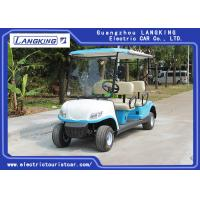 Buy cheap 4 Wheel Drive 4 Seater Club Car For Dry Battery 8V*6PCS Customized Color from wholesalers