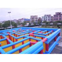 Buy cheap inflatable maze , inflatable maze for sale , inflatable corn maze , plastic maze game from wholesalers
