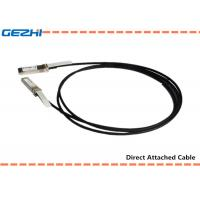 Buy cheap 10G SFP+ to SFP+ DAC Cables Direct Attach Passive Copper Cable For Storage Area Networks from wholesalers